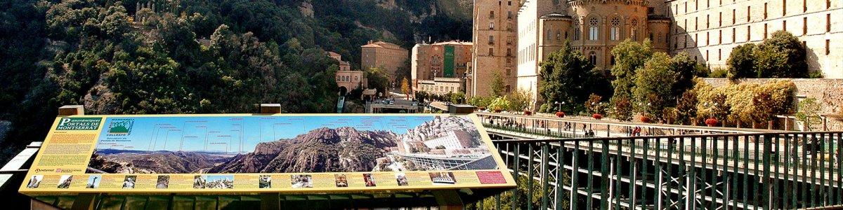 Montserrat - Senyalització turística
