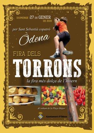 Programa de la Fira Torrons Òdena 2019