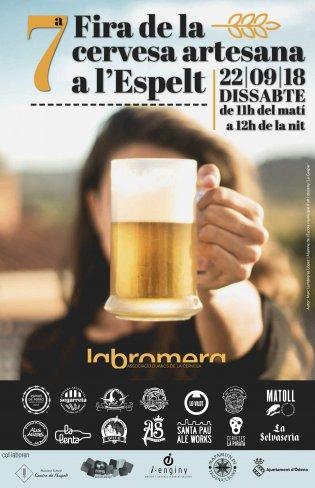 Fira de la Cervesa Artesana de l'Espelt 2018
