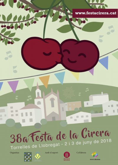 Festa de la Cirera de Torrelles de Llobregat 2018