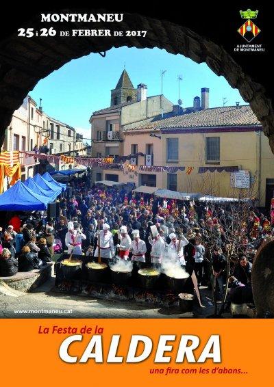 Programa de la Festa de la Caldera de Montmaneu 2017