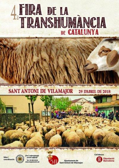 Programa de la Fira Transhumancia a Sant Antoni de Vilamajor 2018
