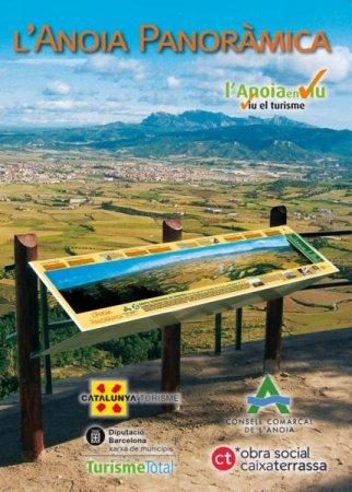 Plànols de promoció turística i fulletons - ANOIA PANORAMICA