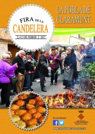 Programa Fira de la Candelera a la Pobla de Claramunt 2017