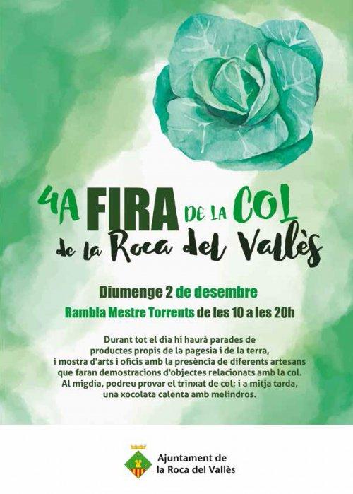 Fira de la col de la Roca del Vallès 2018