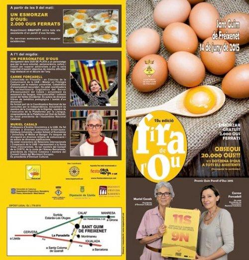 Programa de la Fira de l'Ou del 2015