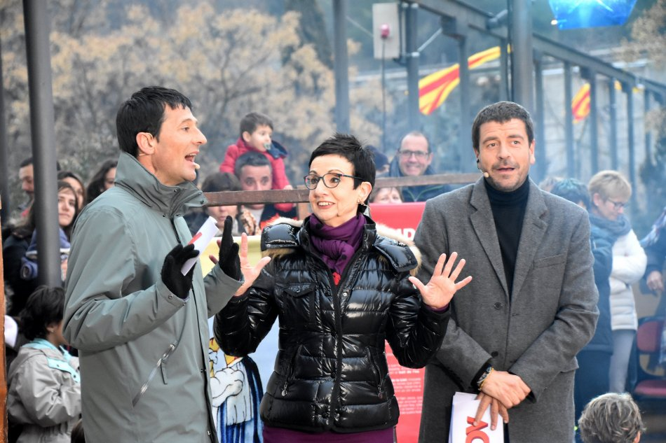 Dani Ramírez, Carme Ruscalleda i Espartac Peran
