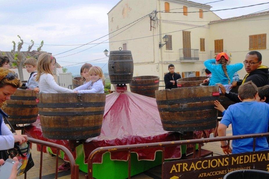 Fira de la Via Augusta a Santa Fe del Penedès