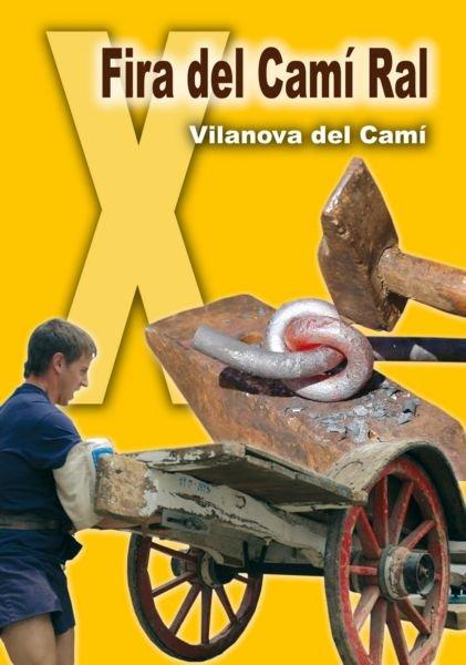 Programa de la Fira del Camí Ral de Vilanova del Camí