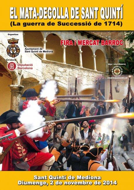Programa de la  Festa del Matadegolla de Sant Quintí de Mediona del 2014