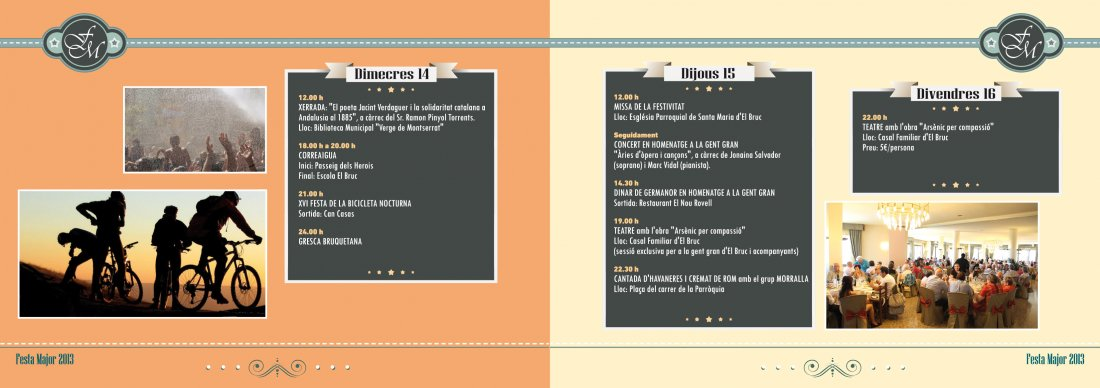 Programa Festa Major del Bruc 2013