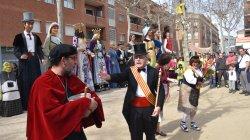 Teatralització de la història de la Festa de l'arròs a Sant Fruitós del Bages