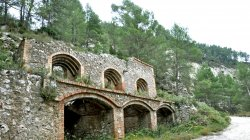 Projecte Museogràfic: Centre d'Interpretacio del guix a Òdena. Catalunya ara fa 50 milions d'anys. El guix, l'aprofitament tradicional d'un recurs natural