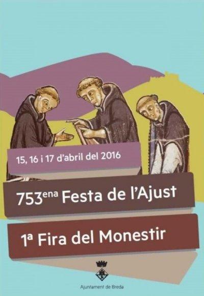 Cartell de la Fira del Monestir de Breda 2016