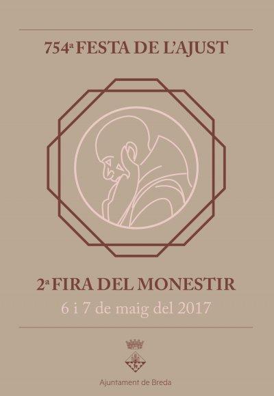 Cartell de la Fira del Monestir de Breda 2017