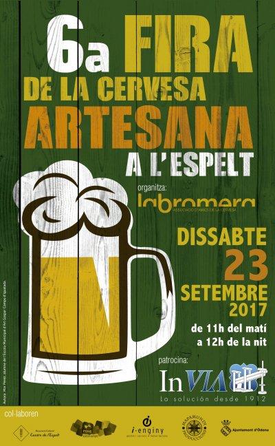 Fira de la Cervesa Artesana de l'Espelt 2017