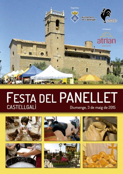 Programa de la Festa del panellet de Castellgalí del 2015