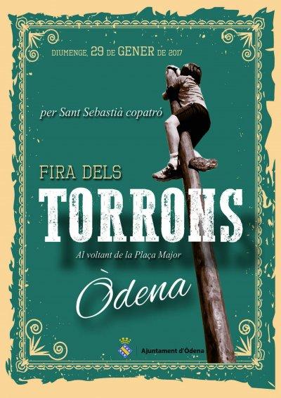 Programa de la Fira Torrons Òdena 2017