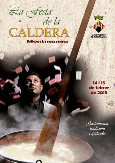 Programa de la Festa de la Caldera de Montmaneu 2015