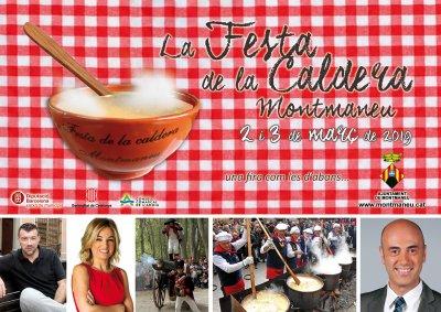 Programa de la Festa de la Caldera de Montmaneu 2019