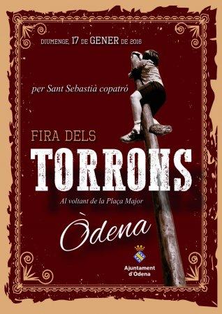 Programa de la Fira Torrons Òdena 2016
