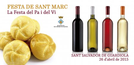 Programa Festa de Sant Marc a Sant Salvador de Guardiola 2015