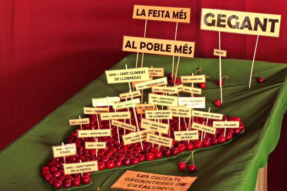 Exposició de Cireres a Sant Climent de Llobregat
