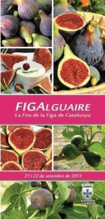 Programa Fira de la Figa d'Alguaire 2013