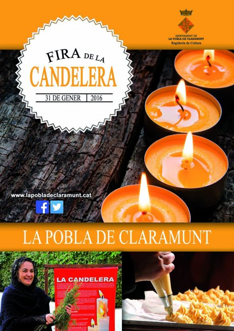 Programa Fira de la Candelera a la Pobla de Claramunt 2016